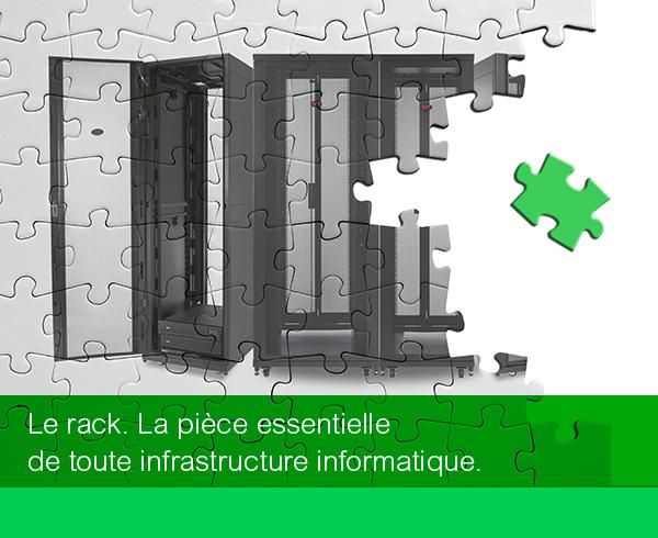 Le rack. La pièce essentielle de votre infrastructure informatique