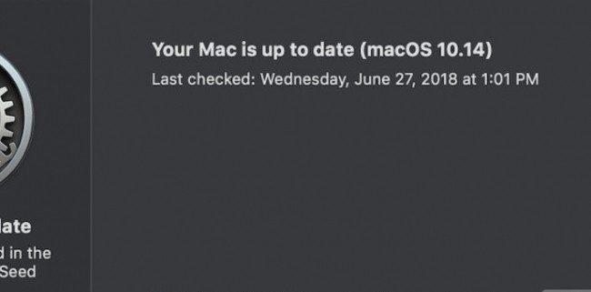 MacOS Mojave : Apple change les modalités de mises à jour